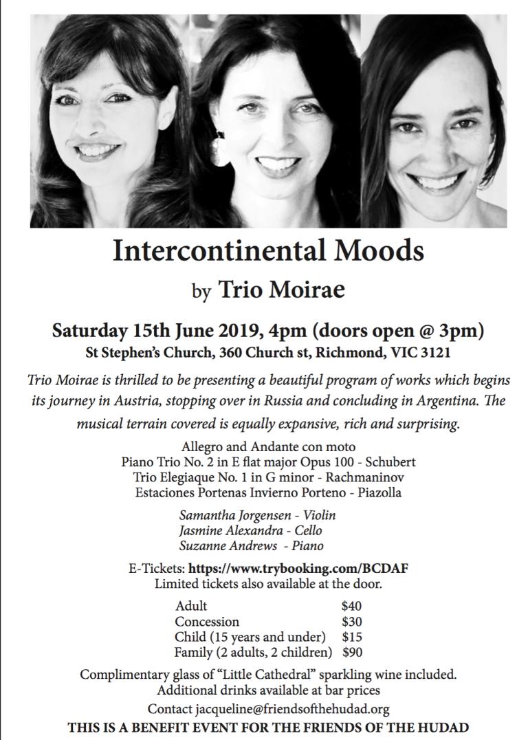 Intercontinantel Moods